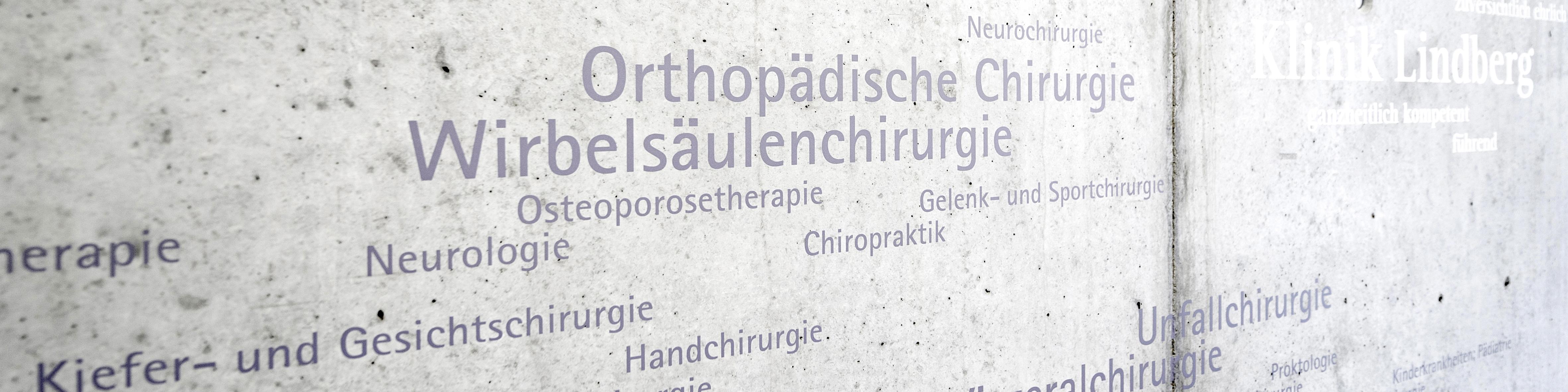 Orthopädie, Traumatologie und Sportmedizin